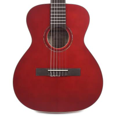 Alvarez Regent RS26NBG Short Scale Nylon Guitar Burgundy Satin