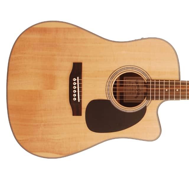 Sigma DMC-1STE+ 1 Series Dreadnought Electro Acoustic Guitar w/Cutaway - Natural image