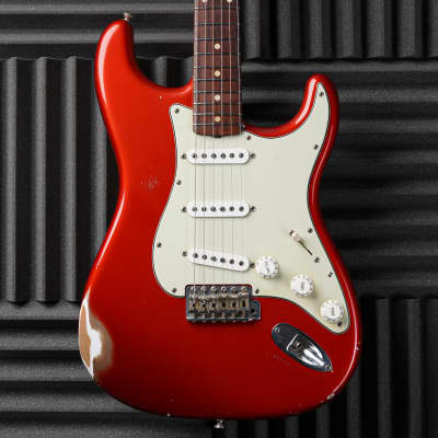Fender Custom Shop '60 Reissue Stratocaster Relic 2002 Candy Apple Red for sale