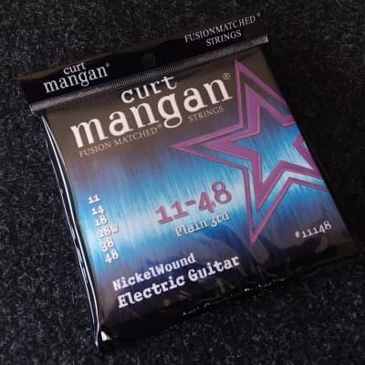 Curt Mangan 11-48 Nickel Wound Electric Guitar Set