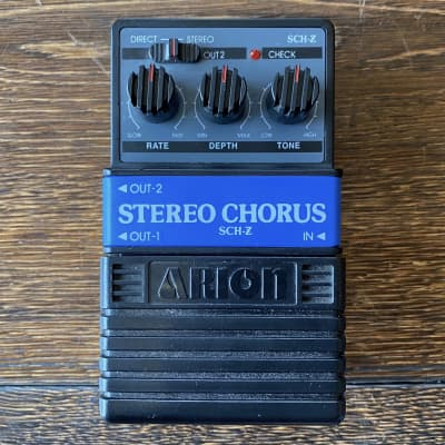 Used Arion SCH-Z Stereo Chorus Guitar Effect Pedal With Box for sale