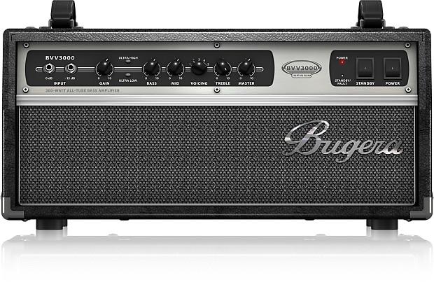 bugera bvv3000 vintage style 300w all tube bass amplifier reverb. Black Bedroom Furniture Sets. Home Design Ideas