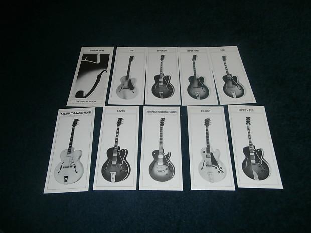 Vintage 1981 Gibson Custom Series Pre
