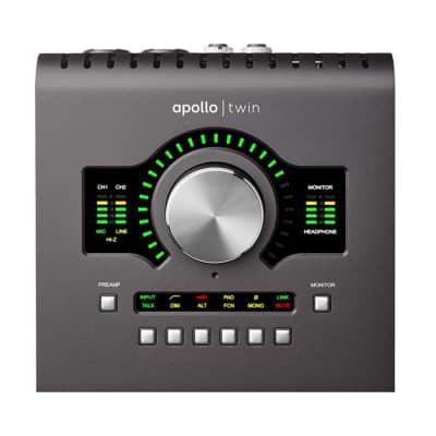 Universal Audio Apollo Twin MKII DUO Heritage Edit. Thunderbolt Audio Interface