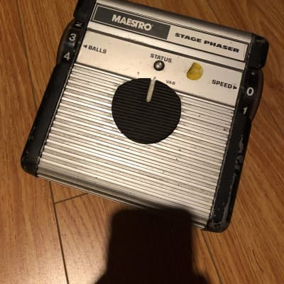 1970s Maestro Stage Phaser Vintage Guitar Effects Pedal for sale