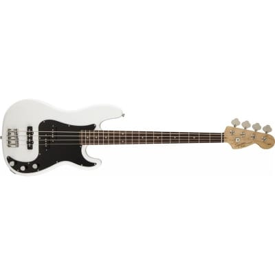 Squier Affinity Series Precision Bass PJ, Olympic White for sale