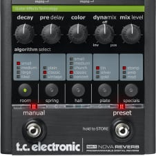 TC Electronic NR-1 Nova Reverb Guitar Effects Pedal