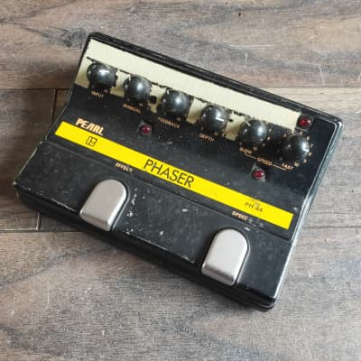 1980's Pearl PH-44 Phaser MIJ Japan Vintage Effects Pedal for sale