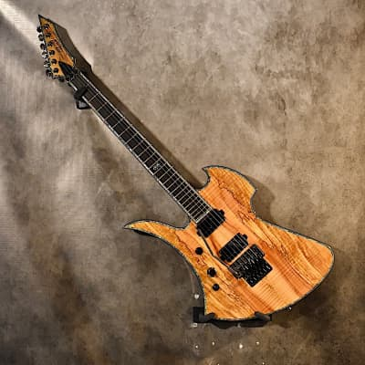 B.C. Rich Left Handed Mockingbird Extreme Exotic FR 2020 Spalted Maple Lefty Guitar