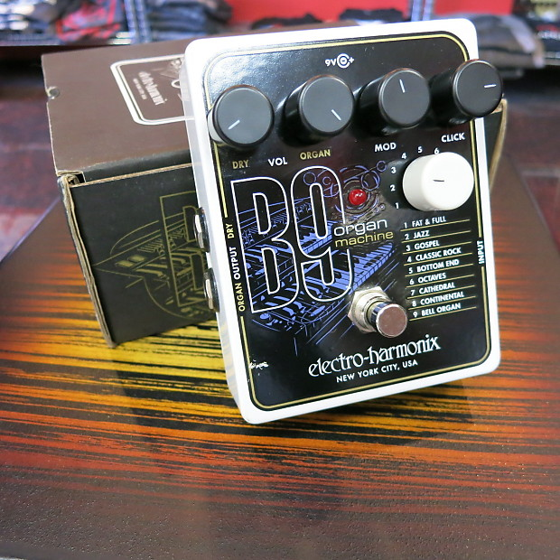 electro harmonix b9 organ machine the guitar store reverb. Black Bedroom Furniture Sets. Home Design Ideas