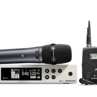Sennheiser EW100G4 ME2/835S Evolution G4 Wireless Combo System A