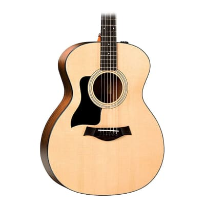 Taylor 114e Sitka Spruce / Walnut Grand Auditorium Left-Handed with ES2 Electronics Natural