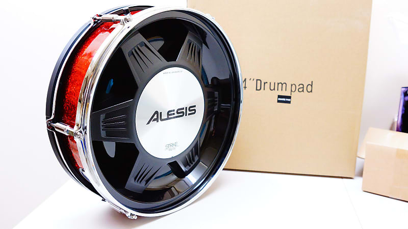 new alesis strike pro dual zone snare 14 39 inch new in box reverb. Black Bedroom Furniture Sets. Home Design Ideas