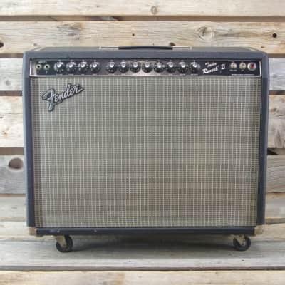 """Fender Twin Reverb II 2-Channel 105-Watt 2x12"""" Guitar Combo 1983 - 1986"""