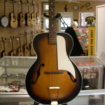 Vintage 1960's Airline Archtop Acoustic Guitar for sale