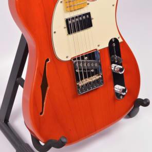 G&L Tribute ASAT Bluesboy Semi-Hollow, Orange for sale