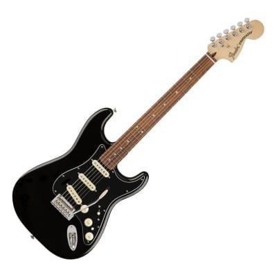 Fender Deluxe Strat with Vintage Noiseless Pickups, Pau Ferro Fretboard Black 2017