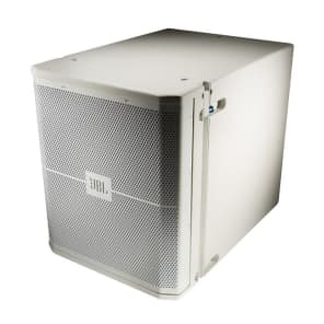 """JBL VRX915S-WH 15"""" Compact High Power Suspendable Subwoofer Speaker"""
