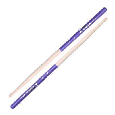 Zildjian Z5ADP 5A Purple Dip Drumsticks
