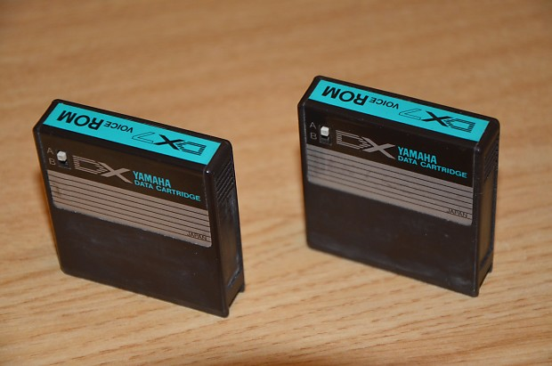 ROM Cards/Cartridges 1 & 2 for Yamaha DX7