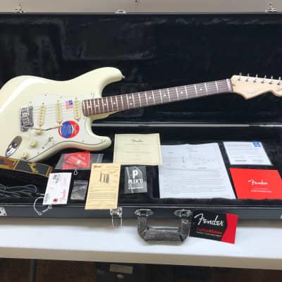2019 Fender USA Jeff Beck Signature Stratocaster, PLEKd, w/ Fender case