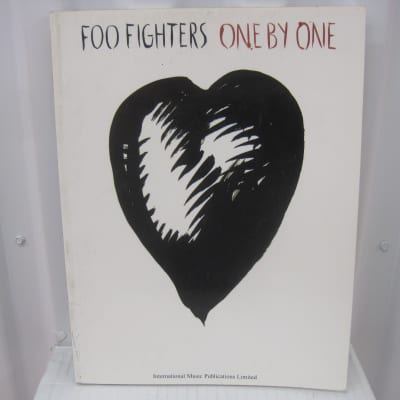 Foo Fighters One by One Sheet Music Song Book Songbook Guitar Tab Tablature