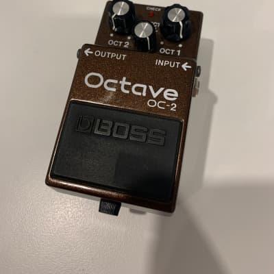 Boss OC-2 Octave (Black Label — Taiwan)