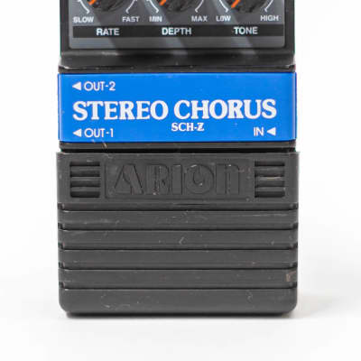 Arion Stereo Chorus / Vibrato SCH-Z Guitar Effect Pedal - Made In Japan for sale