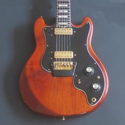 Ovation Preacher DELUXE (Natural Mahogany)  Near MINT with Ovation Case for sale