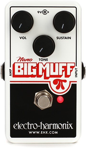 Image is loading New-Electro-Harmonix-EHX-Nano-Big-Muff-Pi-