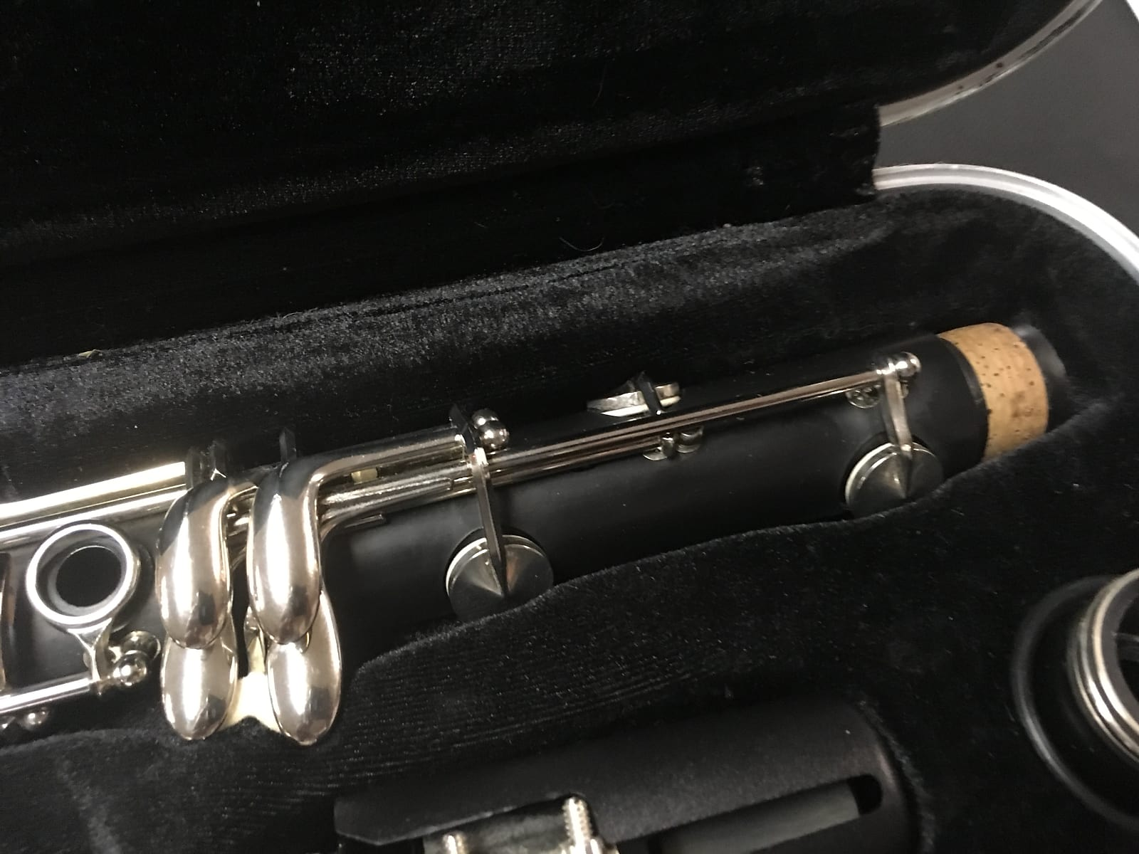 B12 Buffet Crampon Used Student Clarinet With 5rv Mouthpiece!