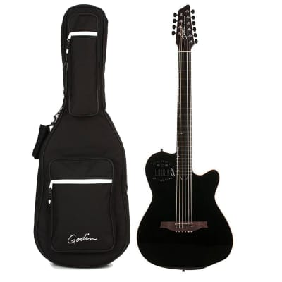 Godin 38220 10 String Acoustic-Electric Guitar, Right Handed