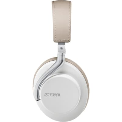 Shure AONIC 50 Wireless Noise-Cancelling Headphones, White, Warehouse Resealed