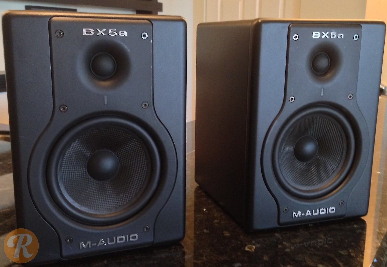 m audio bx5a monitors black reverb. Black Bedroom Furniture Sets. Home Design Ideas