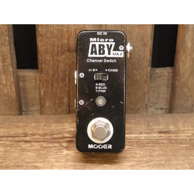 Fender micro ABY channel switch for sale