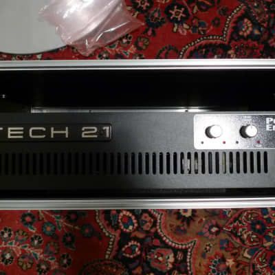 Tech 21 TECH 21 POWER ENGINE PW-400 STEREO POWER AMPLIFIER ENDSTUFE Black for sale