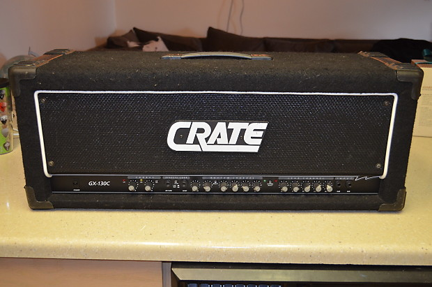 Crate GX-130C Amp Head (Ampeg VH-140C) Rare! Cannibal Corpse!