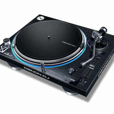 Denon DJ - VL12 Prime - Professional Direct Drive Turntable with True Quartz Lock