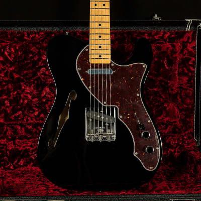 "Fender American Vintage ""Thin Skin"" '69 Telecaster Thinline Black"