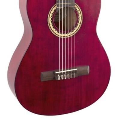 Valencia VC204TWR Series 200 Sitka Spruce Top 4/4 Size Jabon Neck 6-String Classical Acoustic Guitar