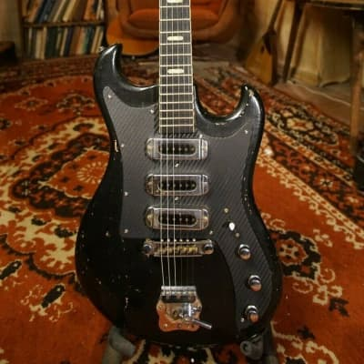 MUSIMA Eterna de Luxe rare vintage electric guitar strat jaguar jazz GDR 70 for sale
