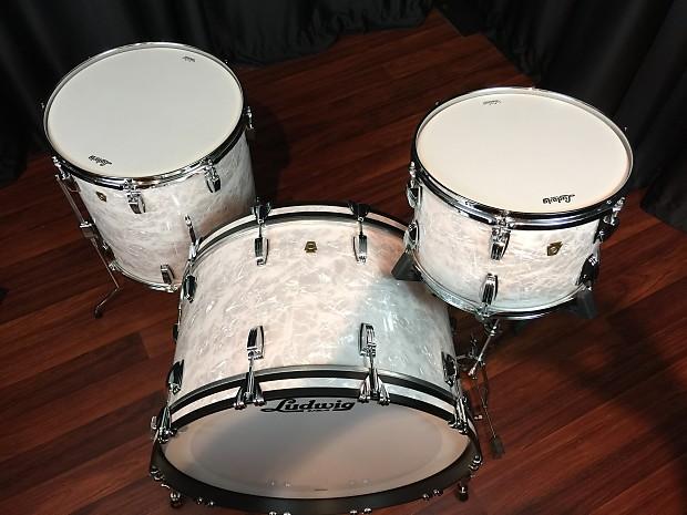 ludwig drums sets usa legacy mahogany jumbo white pearl 13 reverb. Black Bedroom Furniture Sets. Home Design Ideas