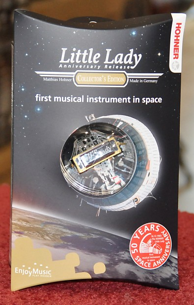 Little lady miniature harp Collectors edition Space anniversary.