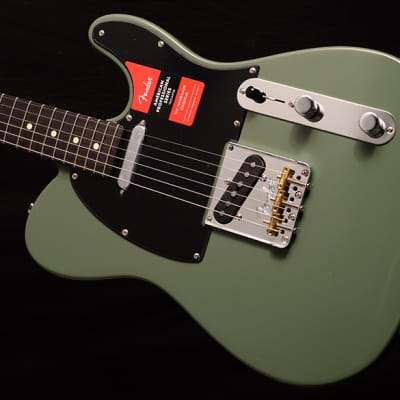 NEW Fender American Professional Telecaster Rosewood Neck in Limited Edition Olive! for sale