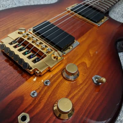 Manson 1983 Kestrel Electric Guitar 1983 Sunburst Schaller 456 bridge for sale