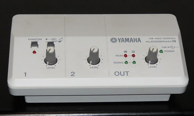 YAMAHA AUDIOGRAM 3 DRIVER FOR WINDOWS 10