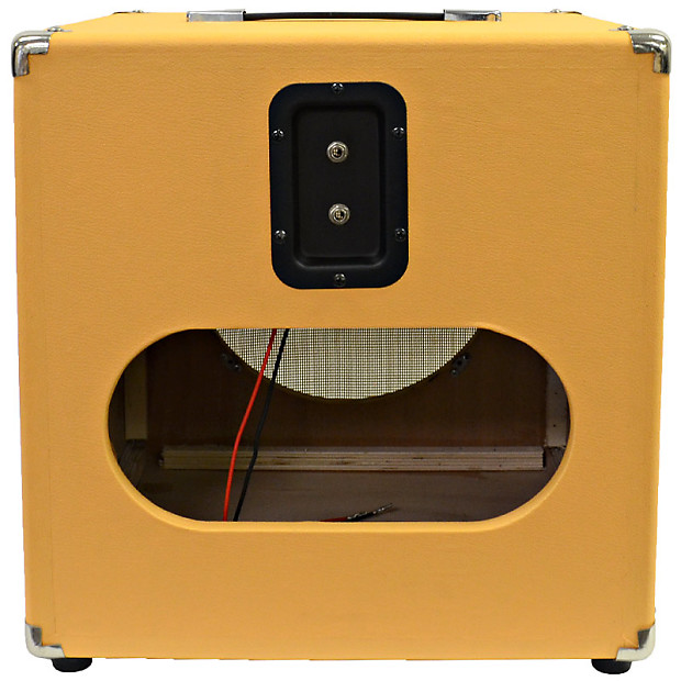 orange tolex guitar speaker cabinet empty 1x12 cube cab reverb. Black Bedroom Furniture Sets. Home Design Ideas