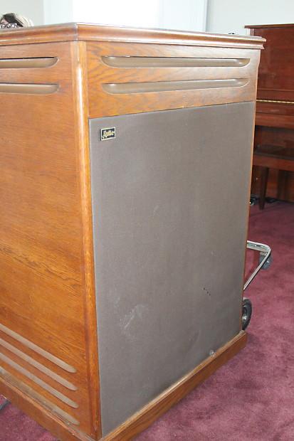 leslie 814 rotating speaker cabinet 122 147 size 11 pin or reverb. Black Bedroom Furniture Sets. Home Design Ideas