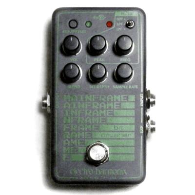 Used Electro-Harmonix EHX Mainframe Bit Crusher Guitar Effects Pedal