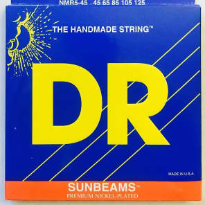 DR NMR5-45 Sunbeam 5-String Bass Strings - Medium (45-125)